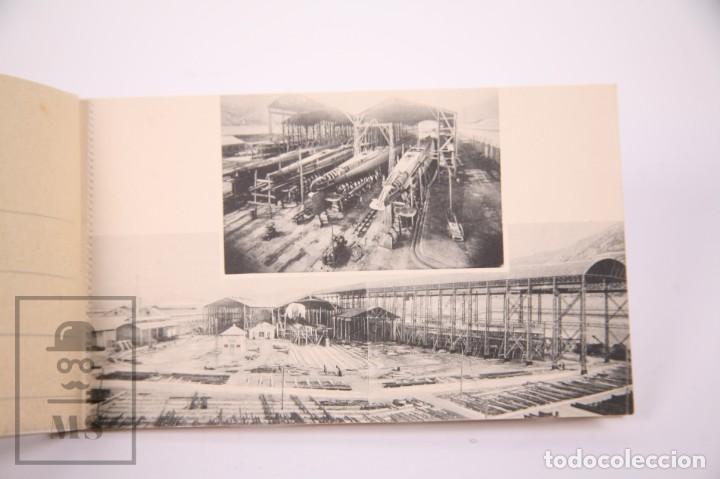 Postales: Taco de 8 Postales - Sociedad Española de Construción Naval - Sevilla Barcelona - Año 1929 - Foto 3 - 261228590