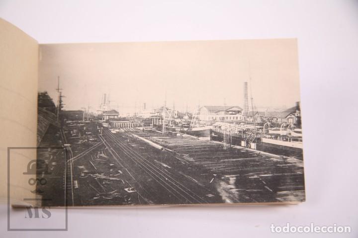 Postales: Taco de 8 Postales - Sociedad Española de Construción Naval - Sevilla Barcelona - Año 1929 - Foto 4 - 261228590
