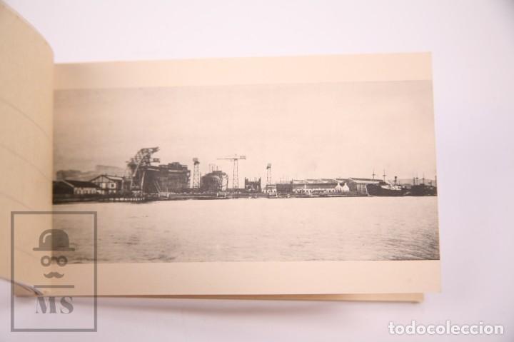 Postales: Taco de 8 Postales - Sociedad Española de Construción Naval - Sevilla Barcelona - Año 1929 - Foto 5 - 261228590