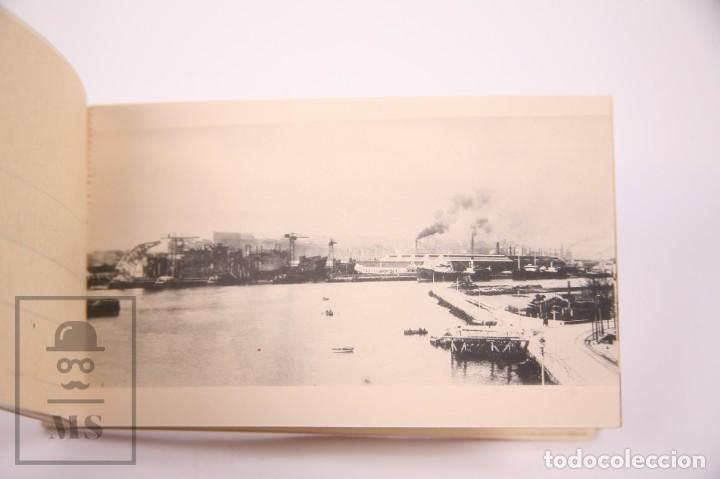 Postales: Taco de 8 Postales - Sociedad Española de Construción Naval - Sevilla Barcelona - Año 1929 - Foto 6 - 261228590
