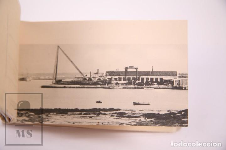 Postales: Taco de 8 Postales - Sociedad Española de Construción Naval - Sevilla Barcelona - Año 1929 - Foto 8 - 261228590