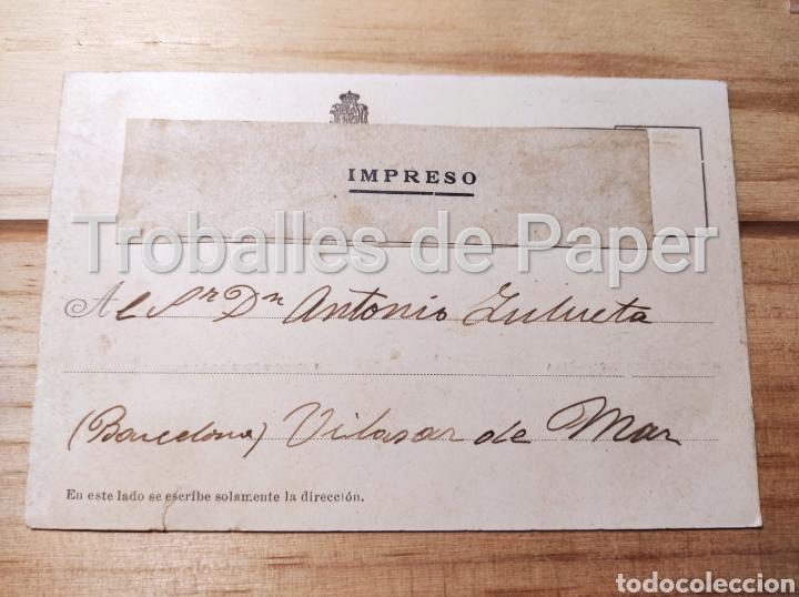 Postales: Barco de guerra marina de guerra española crucero Río de la Plata 1902 - Foto 2 - 262977500
