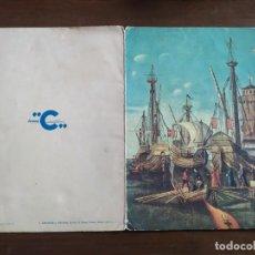 Postales: ANTIGUO MENU DE BARCO FEDERICO C , V. CARPACCIO. Lote 263247985