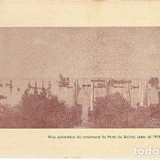 Postales: PORTUGAL ** & POSTAL, PANORÁMICA DEL MOVIMIENTO DEL PUERTO DE SETÚBAL, ANTES DE 1915 (7). Lote 263807470