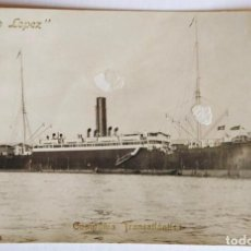 """Postales: ANTIGUA POSTAL BARCO """"ANTONIO LÓPEZ"""" COMPAÑÍA TRANSATLÁNTICA. CÁDIZ. CIRCULADA EN 1911.. Lote 266277303"""