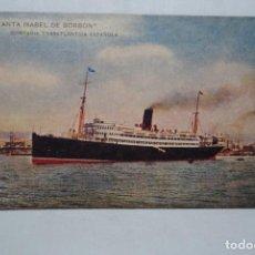 Cartes Postales: BUQUE INFANTA ISABEL DE BORBON. Lote 268133499