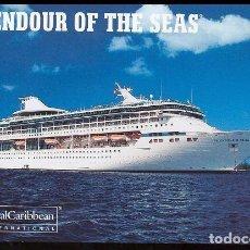 Cartes Postales: TARJETA POSTAL BARCO CRUCERO SPLENDOR OF THE SEAS (MARELLA DISCOVERY). Lote 277089663
