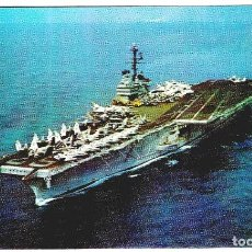 Postales: TEMA BARCOS - PORTAAVIONES U. S. S. INDEPENDENCE - OFFICIAL U.S. NAVY PHOTO - 140X88 MM. Lote 277473923