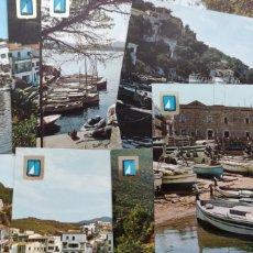 Postales: LOTE 10 POSTALES PRIMERA COLECCIÓN DE MARINAS.. Lote 278459348
