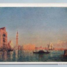 Postales: 1933 VENICE ITALY SAILING BOAT CHANNELS VIEW BY ZIEM GOZNAK ART VINTAGE POSTCARD - ZIEM F.. Lote 278734833