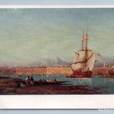 Postales: 1930 BOSPHORUS SAILING BOATS SEASCAPE SEA BY ZIEM GOZNAK ART VINTAGE POSTCARD - ZIEM F.. Lote 278735568