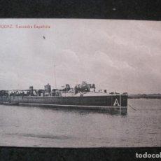 Postales: BARCO-AUDAZ-ESCUADRA ESPAÑOLA-THOMAS-POSTAL ANTIGUA-(83.897). Lote 286888393