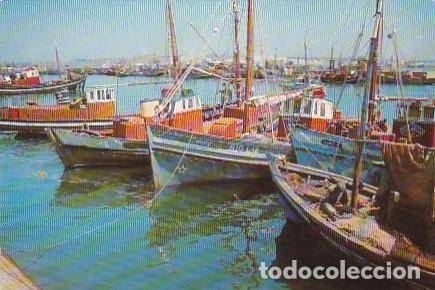 PORTUGAL & CIRCULADO, VILA REAL SANTO ANTÔNIO, BARCOS EN EL MUELLE, MONTE GORDO A LISBOA 1970 (71) (Postales - Postales Temáticas - Barcos)