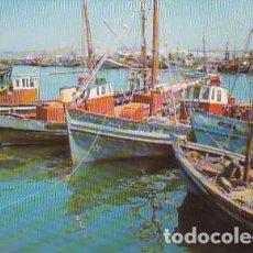Postales: PORTUGAL & CIRCULADO, VILA REAL SANTO ANTÔNIO, BARCOS EN EL MUELLE, MONTE GORDO A LISBOA 1970 (71). Lote 288133228