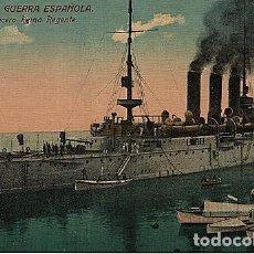 Postales: X126179 ESPANA MARINA DE GUERRA ESPANOLA CRUCERO REINA REGENTE. Lote 288513713