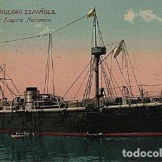 Postales: X126181 ESPANA MARINA DE GUERRA ESPANOLA HISTORICA FRAGATA NUMANCIA. Lote 288514158