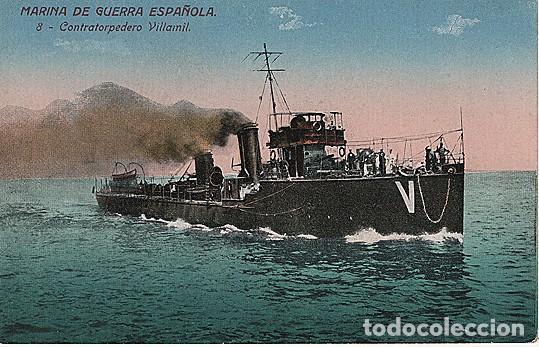 X126182 ESPANA MARINA DE GUERRA ESPANOLA CONTRATORPEDERO VILLAMIL (Postales - Postales Temáticas - Barcos)