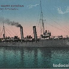 Postales: X126185 ESPANA MARINA DE GUERRA ESPANOLA CRUCERO EXTREMADURA. Lote 288515063