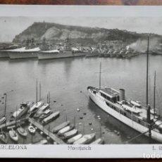 Postales: BARCELONA - 607- MONTJUICH - L.ROISIN. Lote 288665818