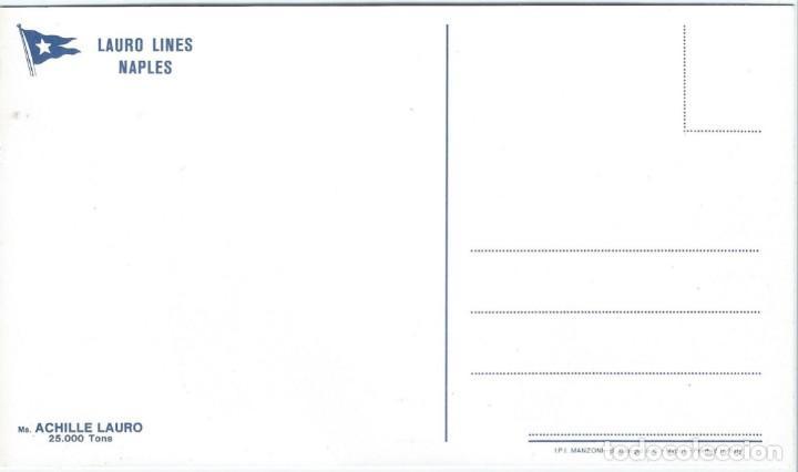 Postales: ACHILLE LAURO - Napoli - Made in Italy - Foto 2 - 288726518