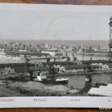 Postales: BARCELONA- PUERTO-L.ROISIN. Lote 288927258