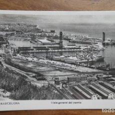 Postales: BARCELONA- 68- VISTA GENERAL DEL PUERTO. Lote 288928488