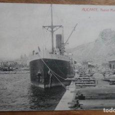 Postales: ALICANTE-NUEVO MUELLE DE LEVANTE- THOMAS. Lote 288931778