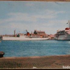 Postales: MOTONAVES- MALLORCA Y CIUDAD DE BURGOS- CIRCULADA 1956. Lote 288934328