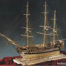 Cartoline: HISTORIA DEL MAR - NAVIO DE LINEA FRANCÉS - ESCUDO DE ORO Nº13 - S/C. Lote 296050018