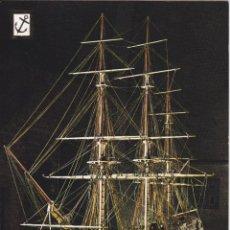 Cartoline: HISTORIA DEL MAR, NAVIO ESPAÑOL DE DOS PUENTES - ESCUDO DE ORO Nº6 - S/C. Lote 296051018