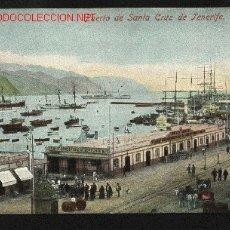Postales: PUERTO DE SANTA CRUZ DE TENERIFE. NOBREGAS ENGLISH BAZAR 7842. NUEVA. Lote 23080253
