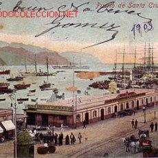 Postais: POSTAL DE TENERIFE Nº7842 -PUERTO DE SANTA CRUZ.. Lote 21743789