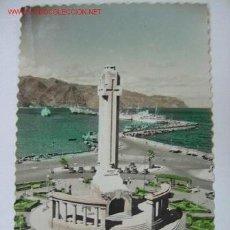 Postales: TENERIFE MONUMENTO A LOS CAIDOS Y MUELLE SUR. Lote 3171725