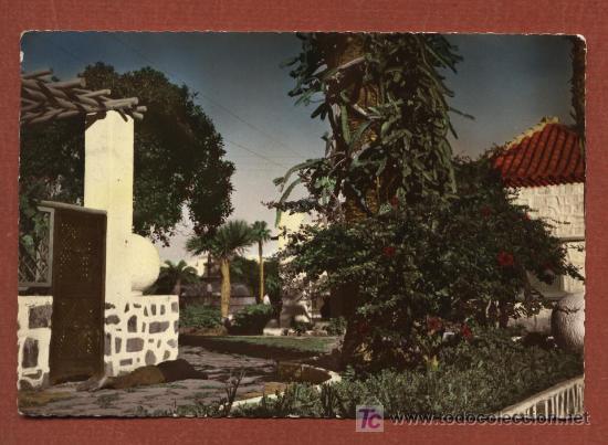 ISLAS CANARIAS. Nº 17. LAS PALMAS DE GRAN CANARIA. UN RINCÓN DEL PARAÍSO. ED. JUNTA DEL TURISMO (Postales - España - Canarias Moderna (desde 1940))