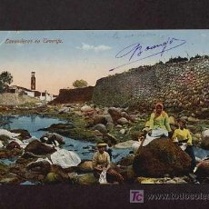 Postales: POSTAL DE TENERIFE: LAVANDERAS (ED.NOBREGA'S ENGLISH BAZAR NUM.8980) (ANIMADA). Lote 3332567