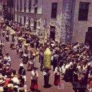 Postales: POSTAL DE LA LAGUNA, TENERIFE. ROMERIA DE SAN BENITO.. Lote 3715000