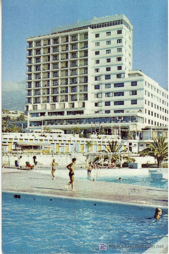 POSTAL DE TENERIFE, CANARIAS. HOTEL LAS VEGAS AÑO 1963 (Postales - España - Canarias Moderna (desde 1940))