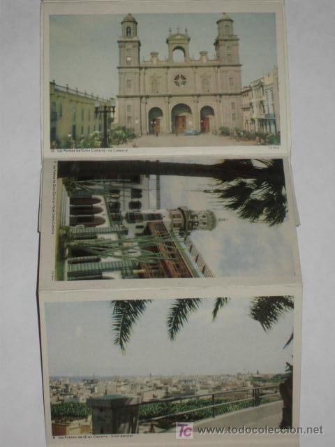 Postales: Carnet de 10 postales de Gran Canaria, años 50. Ed. Deca, Gráfica Manen. - Foto 4 - 27443196