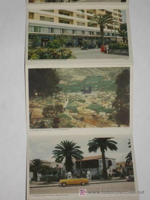 Postales: Carnet de 10 postales de Gran Canaria, años 50. Ed. Deca, Gráfica Manen. - Foto 3 - 27443196