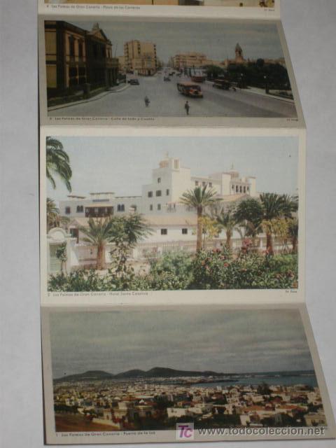 Postales: Carnet de 10 postales de Gran Canaria, años 50. Ed. Deca, Gráfica Manen. - Foto 2 - 27443196