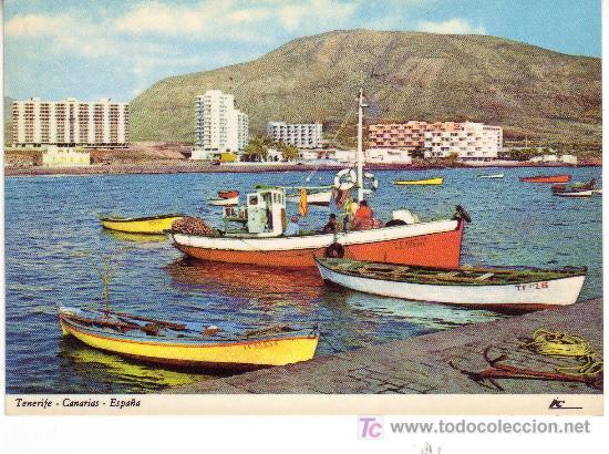 POSTAL DE TENERIFE, CANARIAS.LOS CRISTIANOS. (Postales - España - Canarias Moderna (desde 1940))