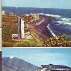 Postales: DESPLEGABLE- TOTAL DE 9 POSTALES DIFERENTES DE TENERIFE.SERIE 28ª. Lote 24635701