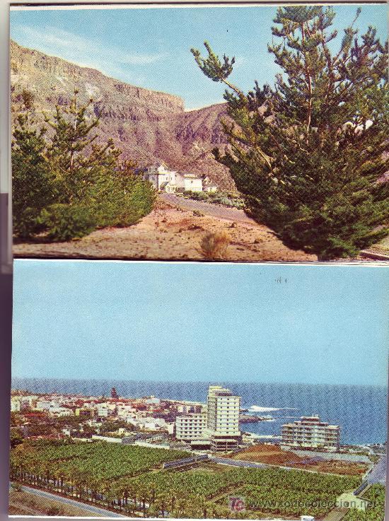 DESPLEGABLE- TOTAL DE 9 POSTALES DIFERENTES DE TENERIFE.SERIE 26ª (Postales - España - Canarias Moderna (desde 1940))
