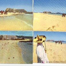 Postales: LOTE DE 4 POSTALES DE FUERTEVENTURA,ISLAS CANARIAS.. Lote 24954231