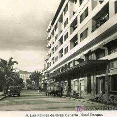 Postales: POSTAL DE CANARIAS, Nº9, HOTEL PARQUE. Lote 4783040