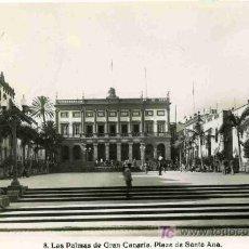 Postales: POSTAL DE CANARIAS, Nº8, PLAZA SANTA ANA. Lote 4783048