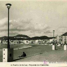 Postales: POSTAL DE CANARIAS, Nº4, PUERTO DE LA LUZ, PLAYA DE LAS CANTERAS. Lote 4783092