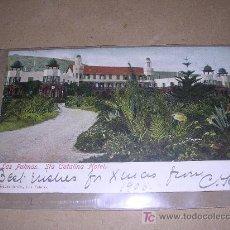 Postales: LAS CANARIAS , STA. CATALINA HOTEL. Lote 4953125