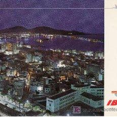Postales: POSTAL CIRCULADA SERIE IBERIA.ISLAS CANARIAS.VISTA NOCTURNA.. Lote 5157358