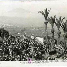 Postales: TENERIFE , CANARIAS, VISTA DE LA OROTAVA Y TEIDE, P13017. Lote 17991367